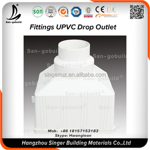 Rain Drainage Building Material Size 4 5 7 8 Any Size Inch PVC Rain Water  Pipe
