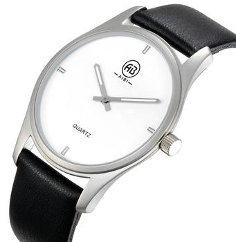 Luminoues Hände Matt Schwarz Herrenuhren Machen Sie Ihr Eigenes Logo Leder Uhren Männer Buy Männer Uhren,Uhren Männer,Ihr Eigenes Logo Uhren Männer