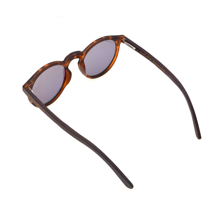 China Factory High Quality Custom Round Wooden Sunglasses Display