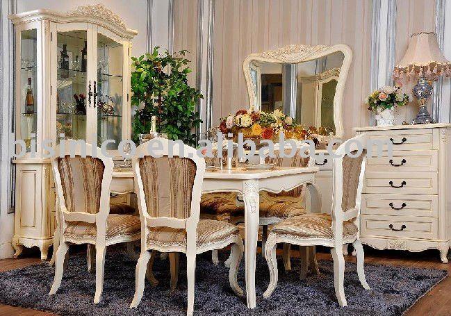 Interni Case Stile Inglese : Stile inglese set sala da pranzo di lusso sala da pranzo mobili
