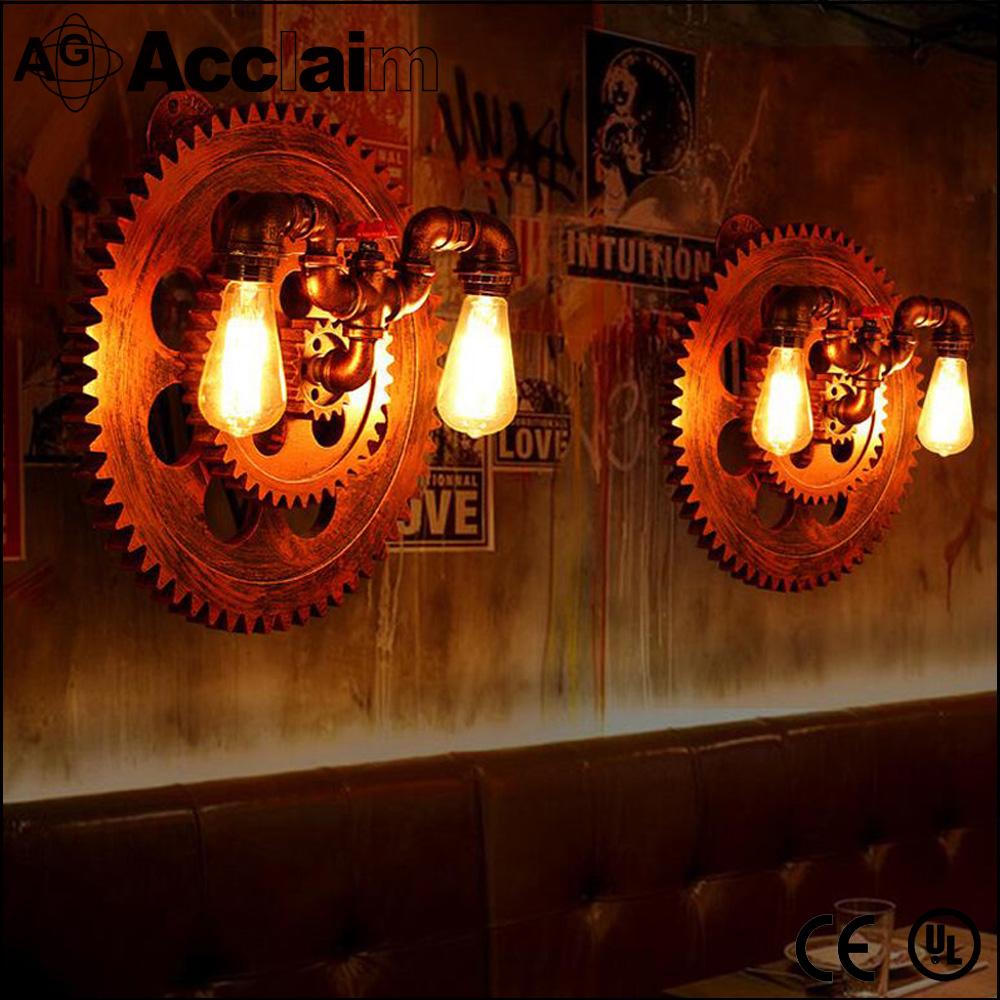 Hotel in stile artistico in ferro battuto luce industriale lampada ...