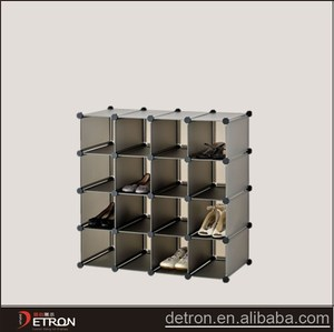 New design metal slatwall shoe display shelf