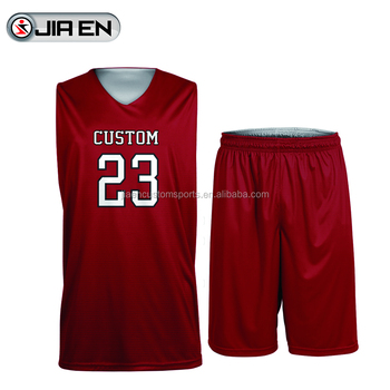 ea8b0cec95fc Wholesale Basketball T-Shorts With Free Design Custom Sublimation Basketball  Jersey Maroon Color