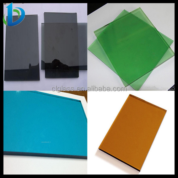 Hot Sale 5mm 8mm Green Blue Bronze Gray Colored Glass