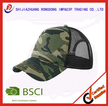a3510247142 wholesale camo cool custom camouflage mesh cap trucker cap army mesh hat  military cap dad hat