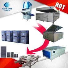 Low Cost PV 1MW 5MW 10MW Photovoltaic Solar Panel Manufacturing Equipments Production Line System
