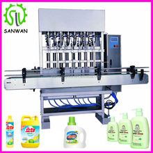 """Big pump"" automatic lubricating oil filling machine 8 nozzles bottling equipment"