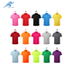 Hot sale superior quality colorful polo man sports short sleeves t-shirt