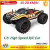 2.4G control pick up truck 1:8 scale big off road RC car with battery