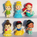Princess Tinkerbell PVC doll baby toy Collection Figure High Quality 2 4inches 6cm Free Shipping