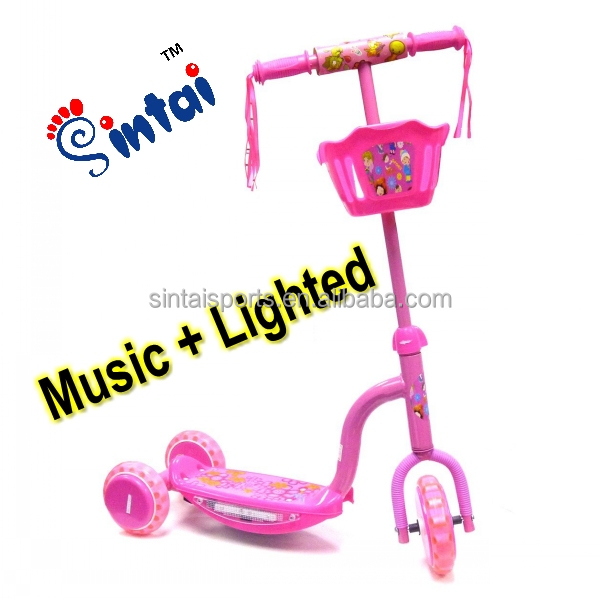best Christmas gift cheap baby foot scooter, children foot scooter 3 wheel