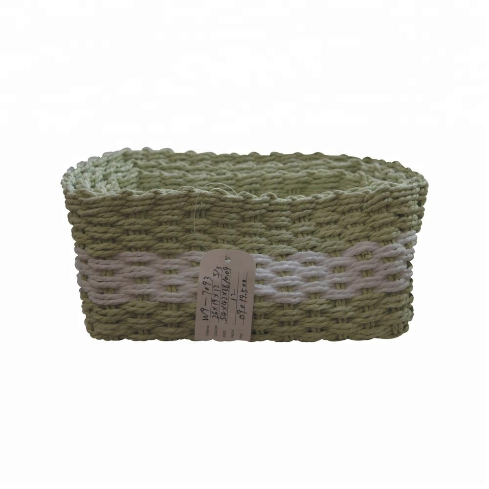 Paper Rope Gift Baskets, Paper Rope Gift Baskets Suppliers And  Manufacturers At Alibaba.com