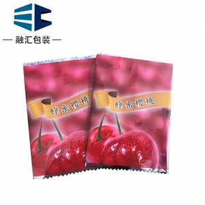 China factory custom printed pe plastic back seal bag