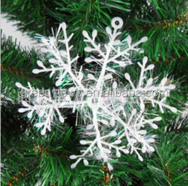 Christmas supplies tree Snowflakes white window decorative snowflake