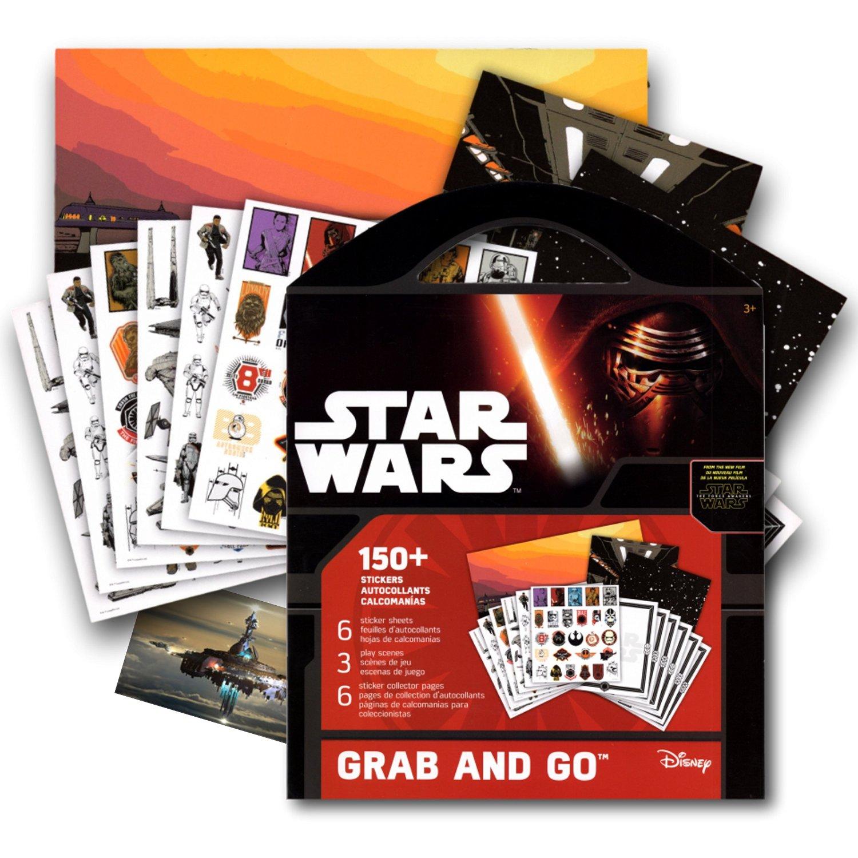 Get quotations · star wars stickers coloring activity book bonus separately licensed fun sticker kylo ren