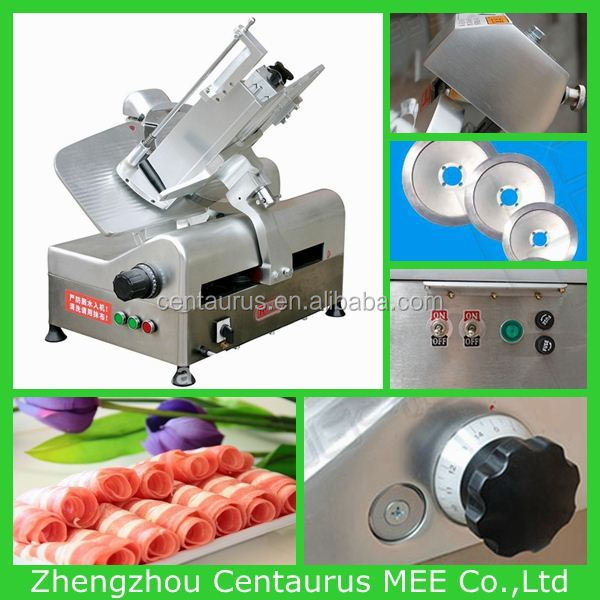 Lowest price meat/beef/mutton slicing machine( meat slice or meat roll) with fast delivery