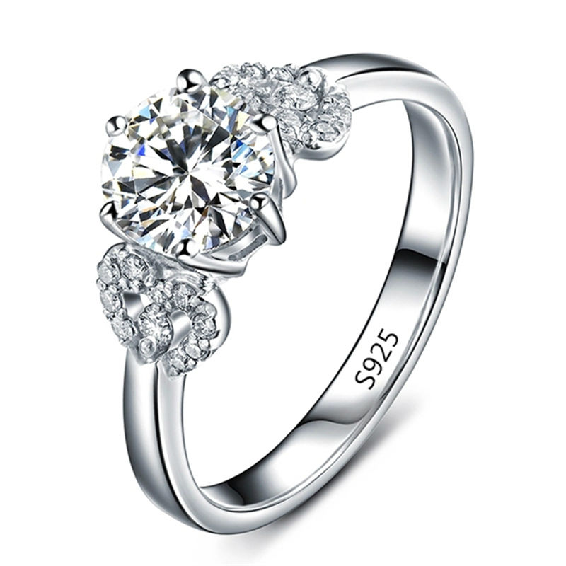 Beautiful Diamond Engagement Rings For Women: Fashion Rings For Women CZ Diamond Female Ring Beautiful