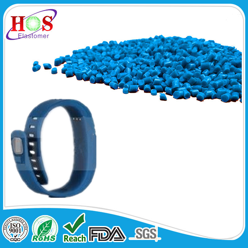 eco-friendly tpe resin, synthetic for cuff, electric watch