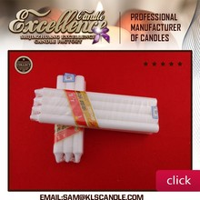 2015 blue sky white candle poly bag / quantity >=2 20'' FCL $8.18-16.70/CTN