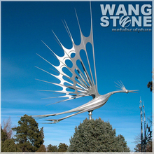 Modern Garden Decoration Stainless Steel Kinetic Sculptures