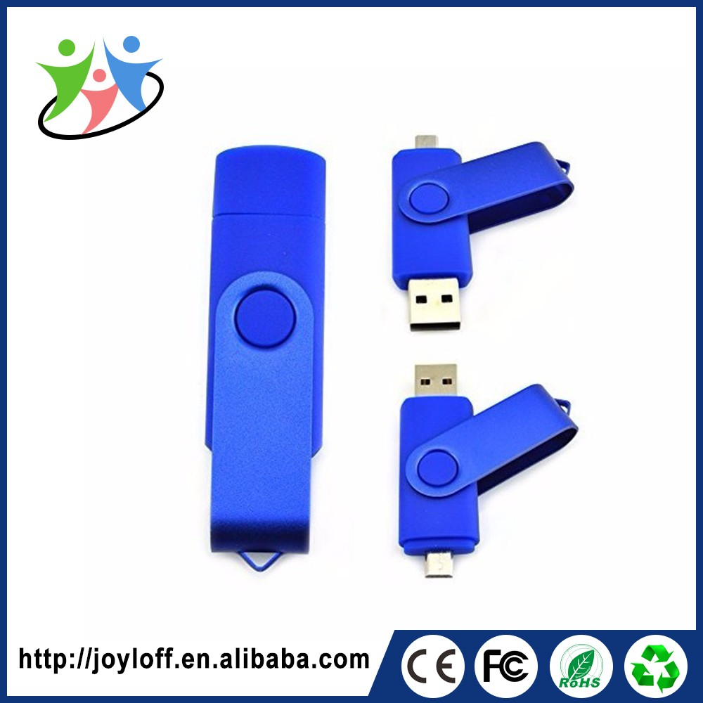 Factory Price customized plastic otg christmas usb <strong>flash</strong>
