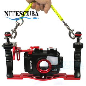 NiteScuba camera case strap handle rope lanyard for scuba diver with hook Underwater Photography equipment Diving accessory