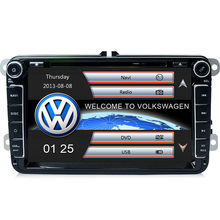 "2 Din Auto 8""screen Built-in canbus Car DVD Player GPS Navigation for VW JETTA PASSAT B6 CC GOLF 5 6 POLO Touran Skoda Seat"