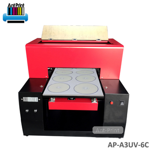 Low cost best performance UV LED adjustable hanky cd printer