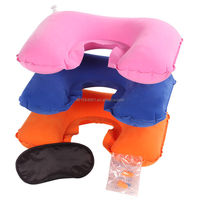inflatable car seat neck pillow funny neck pillow outdoor promotion pillow