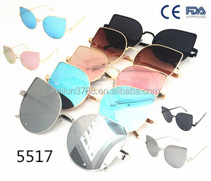 2017 newest women sunglasses same with famous brand top quality kailun sunglasses on sales