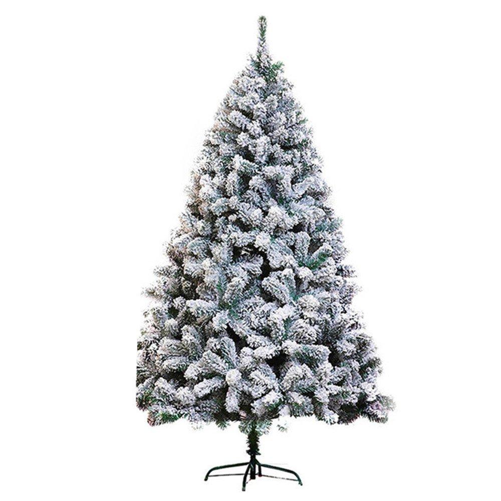Luxury snow Christmas Tree Decoration Layout 210CM800 First Encrypted PVC Flocking Sticky Snow Christmas Tree