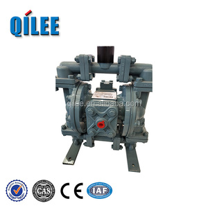 Water treatment stainless steel dual diaphragm pump