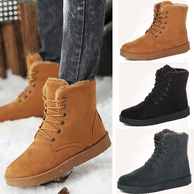 Mens Fur Lined Boots Cr Boot