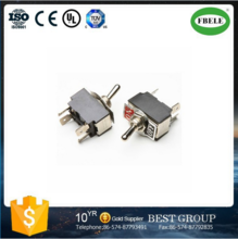 TS55 KN3-3 6 pin safety toggle switch 2A 250VAC DPDT E-ten toggle switch ON-ON