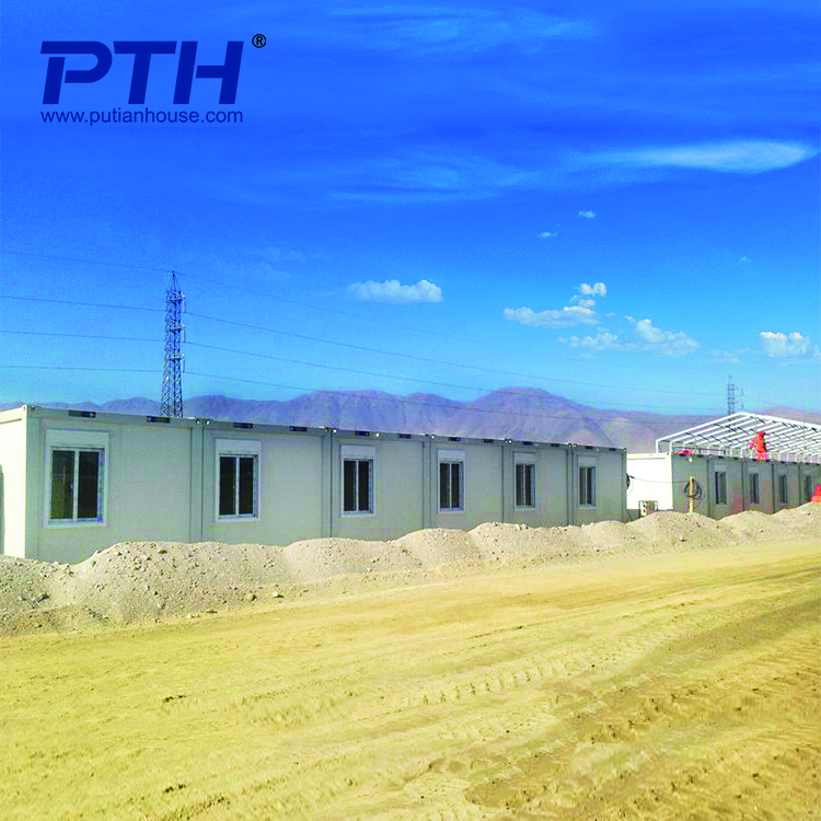 Convenient prefabricated modular container house for offcie camp
