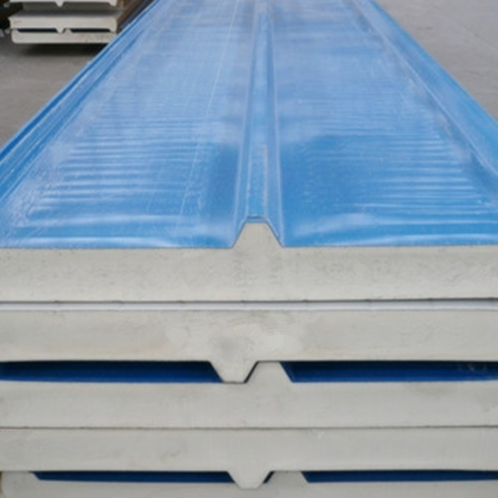 china supplier insulated pu polyurethane aluminum sandwich panel