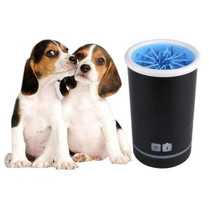 Amazon Hot Sale Comfortable Silicone Dog Cat Pet Electric Paw Washer Foot Cleaner Cup
