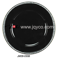 best price beaded charger plate wholesale, rhinestones charger plates