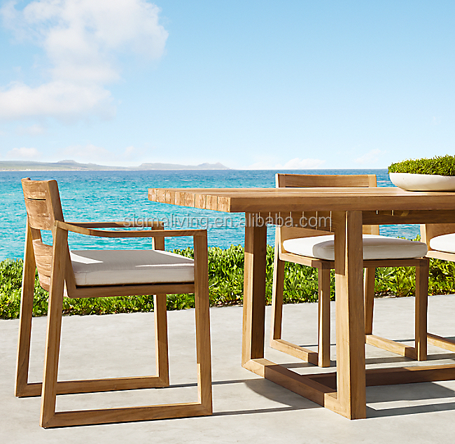 Outdoor teak patio furniture  garden teak outdoor table teak dining chairs
