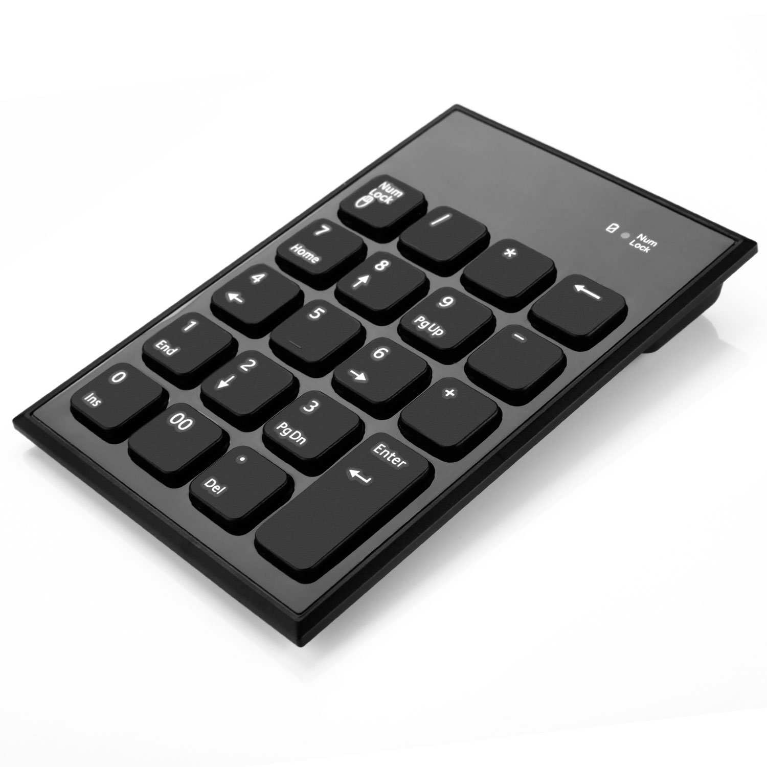 5b3b05140c2 Bluetooth Number Pad, Jelly Comb 19 Keys Wireless Numeric Keypad for Tablet  Laptop Notebook Cell