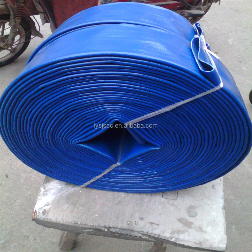 Agricultural/Mining/Greenhouses/Nurserys/ Barns/ Farms/Construction/ Water Discharge Used PVC Layflat Hose