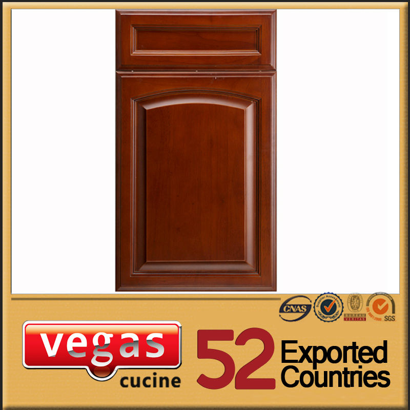 European standard countryside style sliding kitchen cabinet door