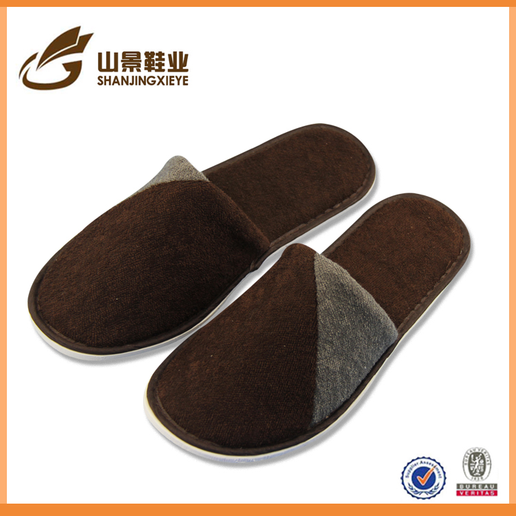chinese style piald slippers for adults warm and soft slippers