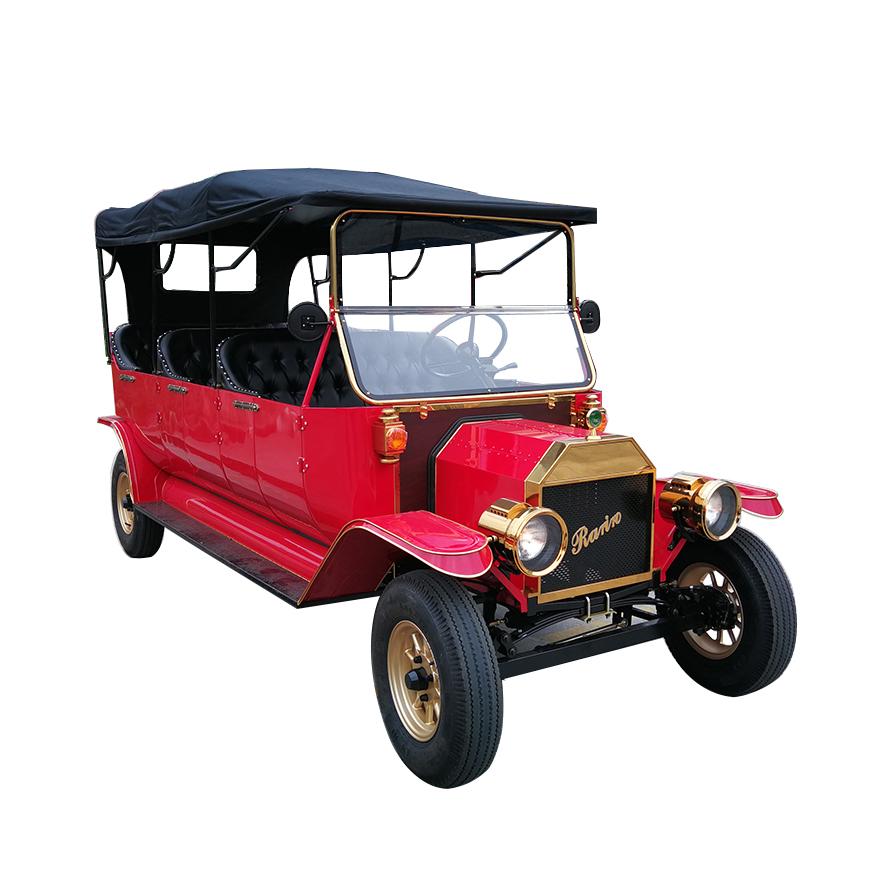 Unique 8 passenger vintage CE approved antique model t 5KW electric car