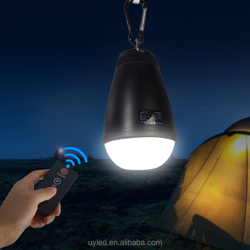 Uyled Uy Q5 Water Resistant Ip65 Rechargeable Hanging Led Camping Light Tent With Remote Controller