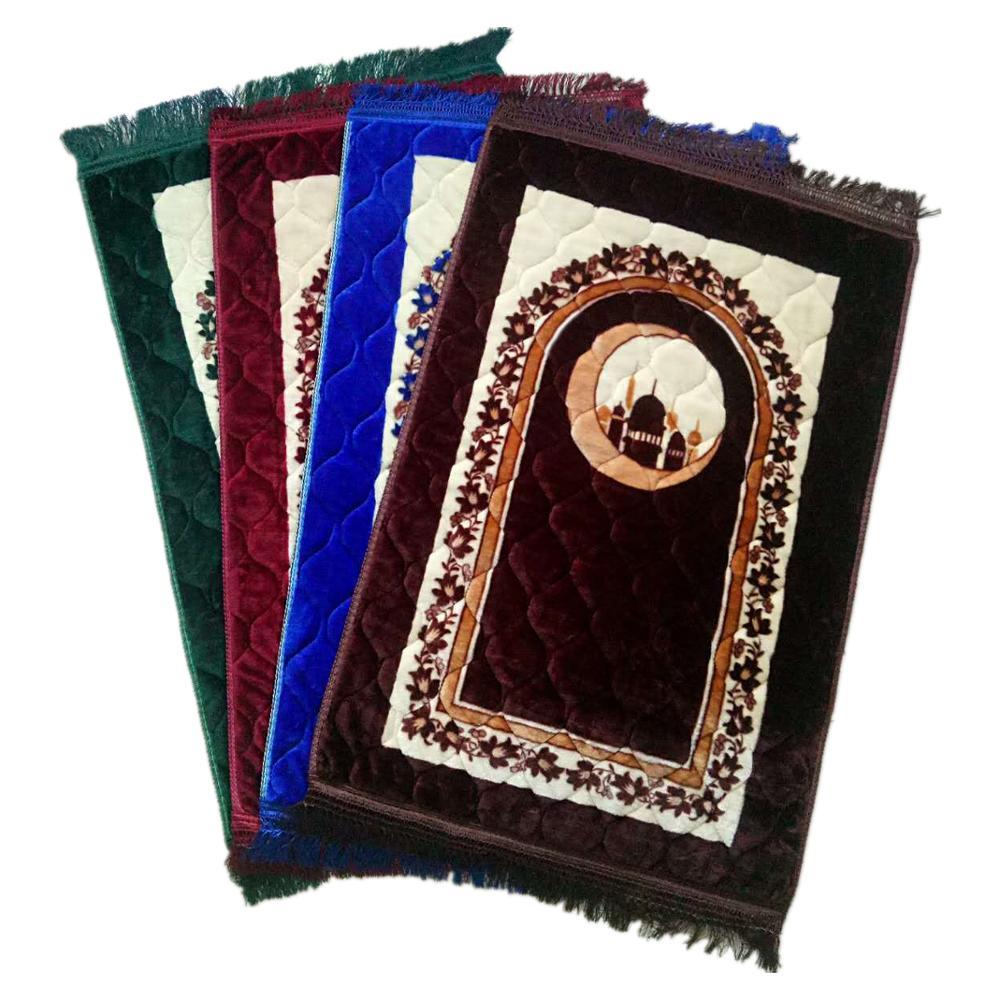 En gros musulman Personnalisé couette mousse éponge pliable tapis de prière intelligent