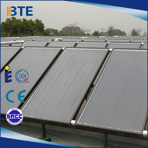 Factory direct sales solar thermal flat plate solar collector price