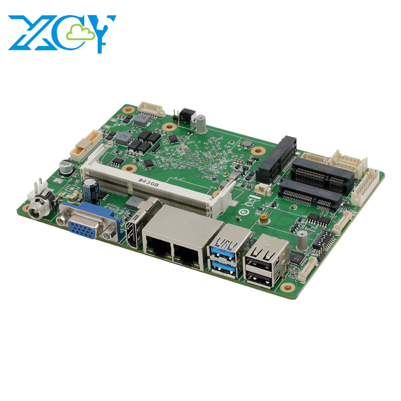 XCY motherboard processor i3 i5 i7 Intel Celeron J1900 Dual NIC RS485 RS232 ddr3 laptop motherboard mainboard pc