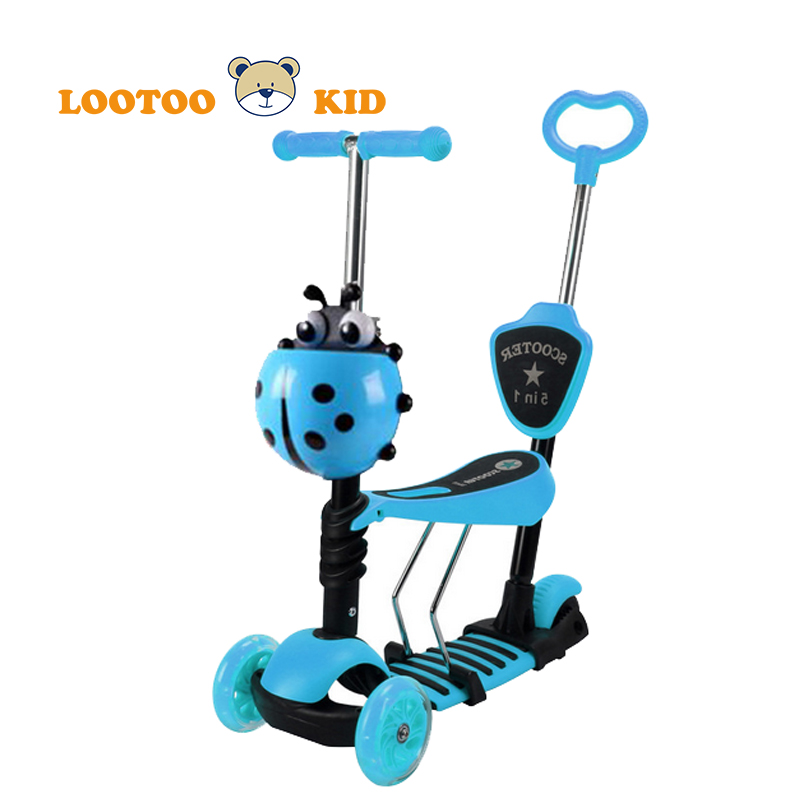 Alibaba trade assurance china factory cheap price multi-functional children step scooter