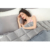 Weighted blanket anxiety weight quilt 10% of your body weight for adult sleep disorder relieving anxiety